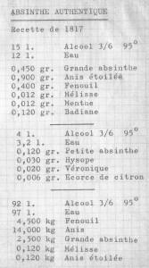Absinth Rezepte 1817 (doazmol 1)